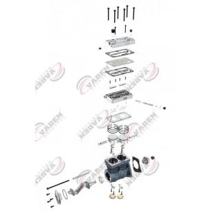 Компрессор воздушный MERCEDES BENZ 9115531050 (пр-во Vaden) 1100020001