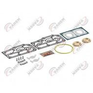 РМК компрессора DAF XF105, CF85 прокладки, клапана, 9125189232 WABCO (пр-во VADEN) 1600120100