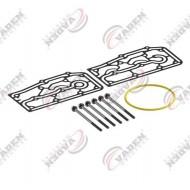 РМК компрессора DAF XF105, CF85  прокладки, болты WABCO (пр-во VADEN) 1600120160
