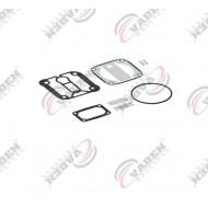 РМК компрессора DAF LF45,LF55, MAN, KNORR LK3839, прокладки, клапана (пр-во VADEN) 1600130100