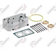 Головка компрессора в сборе DAF XF105, CF85, WABCO 9125189202 (пр-во VADEN) 161210