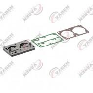 РМК компрессора Renault Magnum, Premium плита клапанная и прокладки Knorr LP4845 RVI (пр-во VADEN) 1700 010 650