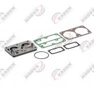 РМК компрессора Renault Magnum, Premium плита клапанная и прокладки Knorr LP4845 RVI (пр-во VADEN) 1700 010 750