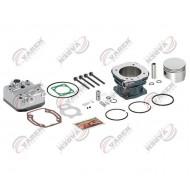 Головка компрессора в сборе DEUTZ c цилиндром и поршнем KNORR (пр-во VADEN) 20 06 60