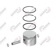 Поршень компрессора с кольцами 75.00mm (STD) WABCO, MB Unimog (пр-во VADEN) 7000753100
