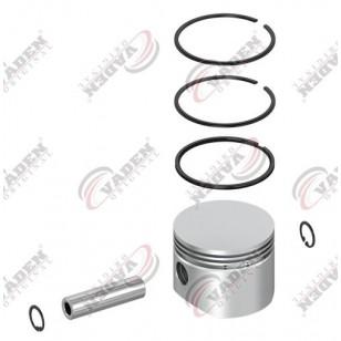 Поршень компрессора с кольцами 78.00mm (1,00) KNORR, RVI ( Vaden ) 7000 781 104
