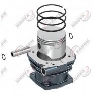 Цилиндр компрессора KNORR, VOLVO FH12, FL12 с поршнем и кольцами (пр-во VADEN) 7000 885 500